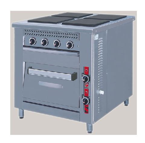 Επιδαπέδια Κουζίνα Ηλεκτρική Με Φούρνο