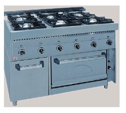 Επιδαπέδια Κούζίνα Υγραερίου Με Φούρνο