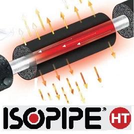 3i Isopipe HT Έυκαμπτη Μόνωση (Κατάλληλη για υψηλές θερμοκρασίες)