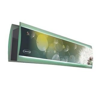 Διπλής Όψης Θερμαινόμενες Οροφής Με Φωτισμό