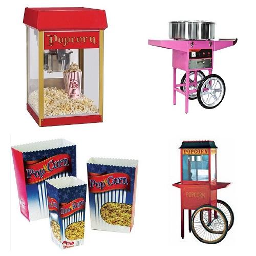 Μηχανές Πόπ Κόρν - Pop Corn & Μαλλί της Γριάς