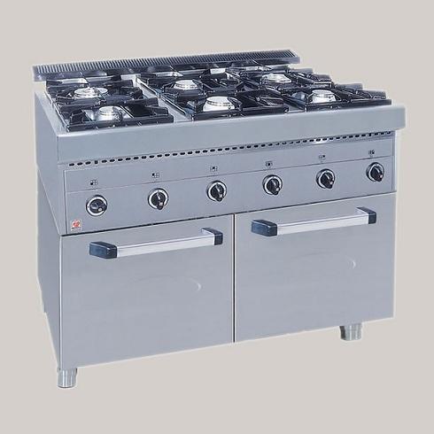 Επιδαπέδια Κουζίνα Υγραερίου Χωρίς Φούρνο