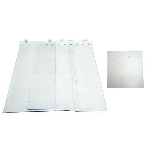 Ημιδιαφανείς Κουρτίνες PVC Για Πόρτες