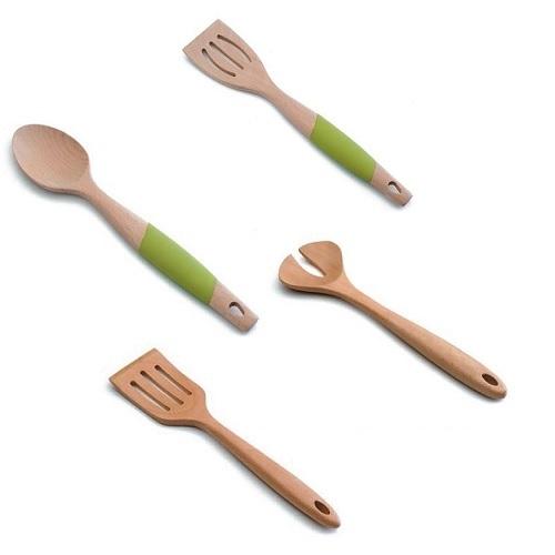 Εργαλεία Κουζίνας από Ξύλο Οξιάς