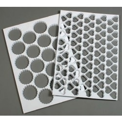Πλαστικά Φύλλα Κοπής Ζαχαροπλαστικής