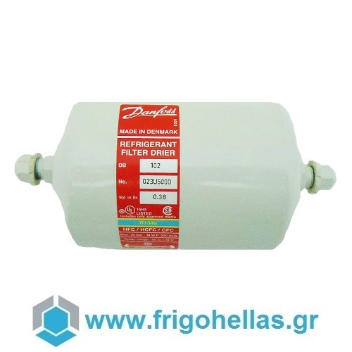 """Danfoss DB-102 Φίλτρα Διπλής Ροής Ψυγείων 1/4"""" Βιδωτά εξαρτήματα ψύξης   κλιματισμός   φίλτρα ψυγείων  προσφορές   εξαρτήματα ψύξης"""