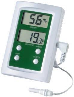 Eti 810-155 Therma-hygrometer-alarm Θερμόμετρο & Υγρόμετρο με alarm (-49,9°C έως εργαλεία για ψυκτικούς   θερμόμετρα   υγρασιόμετρα   υγρόμετρα   υγροστάτες   επ