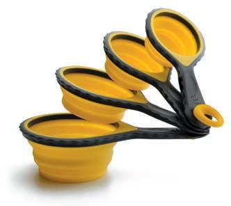Lacor 67024 Σετ Κουτάλια Μεζούρες Σιλικόνης επαγγελματικός εξοπλισμός   επαγγελματικά σκεύη εργαλεία κουζίνας μαχαίρια είδη