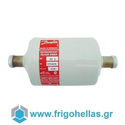 """Danfoss DMB-165S Φίλτρα Διπλής Ροής Ψυγείων 5/8"""" Κολλητα εξαρτήματα ψύξης   κλιματισμός   φίλτρα ψυγείων  προσφορές   εξαρτήματα ψύξης"""