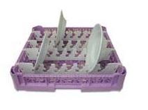 OMEGA Καλάθι Πλυντηρίου για 15 Πιάτα Ø320mm - 500x500x100mm επαγγελματικός εξοπλισμός   καλάθια πλυντηρίων  επαγγελματικός εξοπλισμός   πλυν