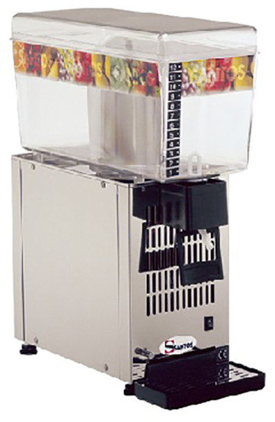 Santos No 34-1 Ψύκτες Χυμών με 1 Κάδο (1x12Lit) (Γαλλίας) black week προσφορές   ψύκτες χυμών  επαγγελματικός εξοπλισμός   μηχανές καφέ