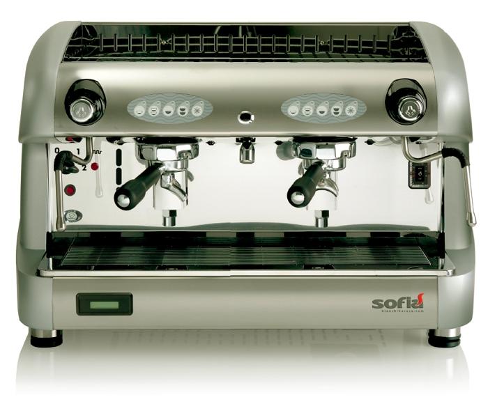 Bianchindustry Sofia Μηχανή Espresso Αυτόματη Με 2 group επαγγελματικός εξοπλισμός   μηχανές καφέ   συσκευές για bar   μηχανές καφέ καθαρ