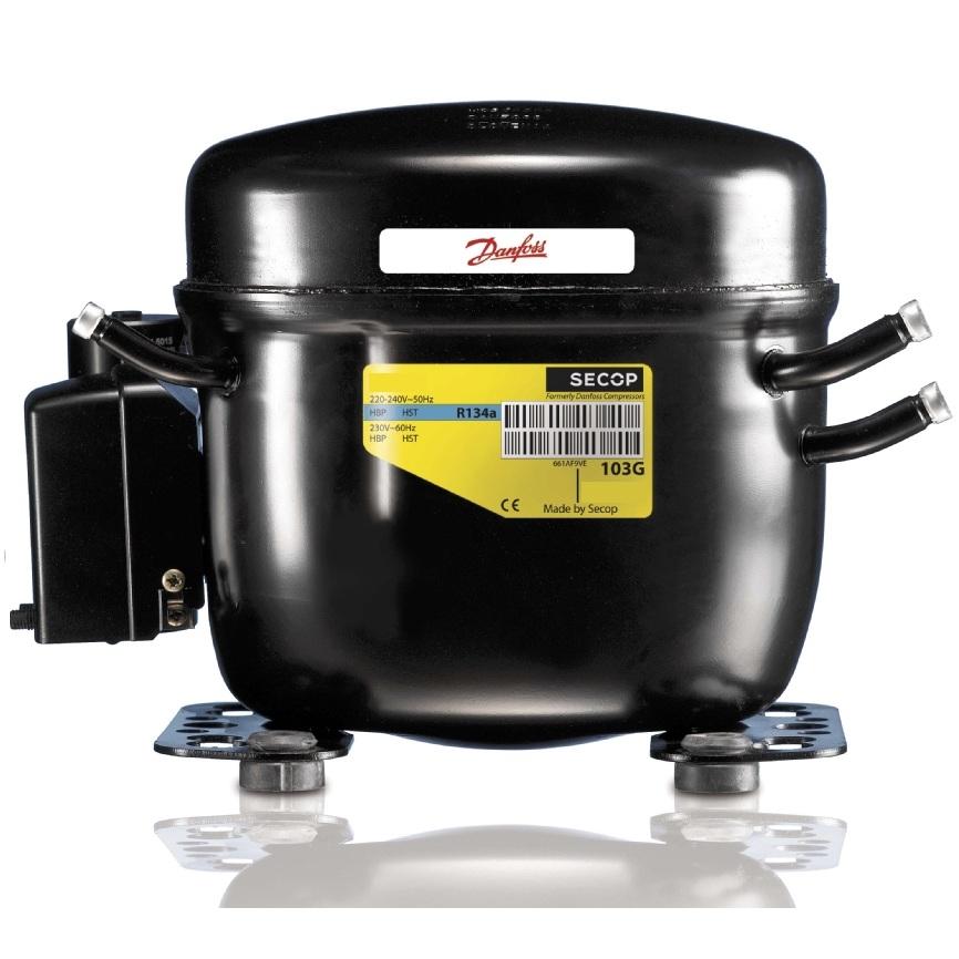 Danfoss FR7.5G (1/5HP / R134a / 230Volt) Κομπρεσέρ Ψυγείων Συντήρησης ή Κατάψυξη συμπιεστές   danfoss συμπιεστές 230volt