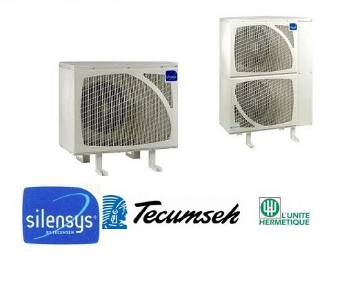 Tecumseh-Lunite Silensys SIL4534Y (3HP / R134a / 430Volt) Ψυκτικά Μηχάνηματα