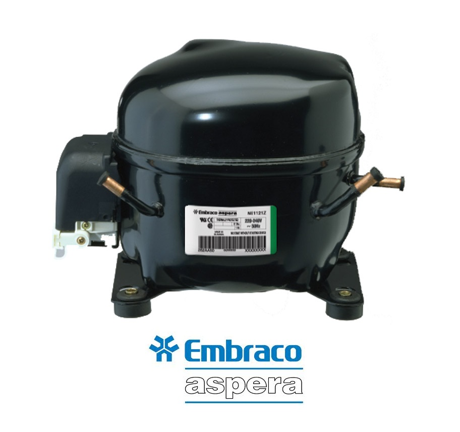 Embraco-Aspera NE6210Z (3/8HP / 230Volt / R134a) Κομπρεσέρ Ψυγείων Συντήρησης συμπιεστές   embraco aspera συμπιεστές  συμπιεστές   embraco aspera συμπιεστές