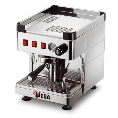 WEGA Mininova Inox EPU PR Ημιαυτόματη Μηχανή Καφέ Espresso για Σύνδεση σε Δίκτυο επαγγελματικός εξοπλισμός   μηχανές καφέ   συσκευές για bar   μηχανές καφέ καθαρ