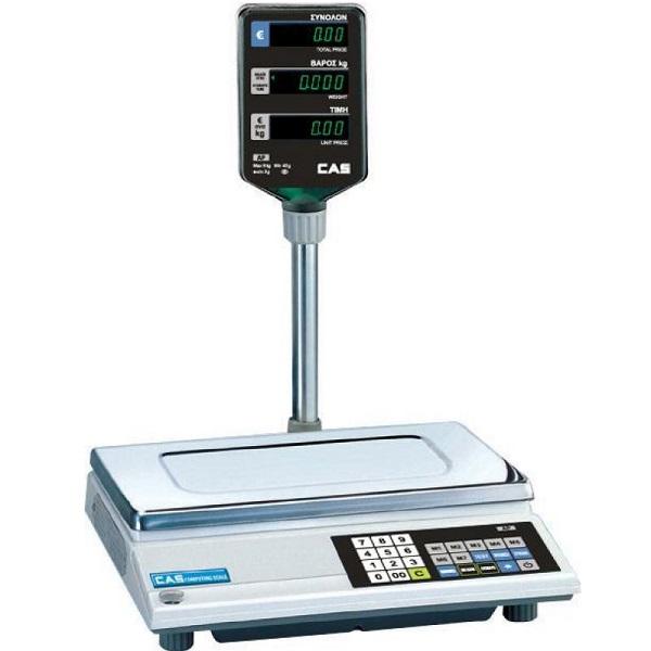 CAS AP-15M Ηλεκτρονική Ζυγαριά Με Κολώνα Λιανικής & Λαικών Αγορών (Ικανότητα Ζύγ επαγγελματικός εξοπλισμός   ζυγαριές  ζυγοί  επαγγελματικός εξοπλισμός   ζυγαριέ