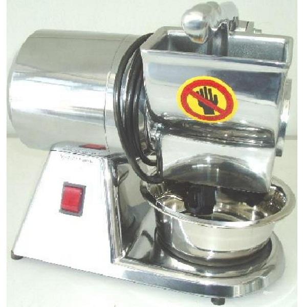 CGT mini Inox Τυροτρίφτης Για Σκληρό Τυρί & Ξηρούς Καρπούς - 0,35HP/220Volt black week προσφορές   τυροτρίφτες  επαγγελματικός εξοπλισμός   συσκευές επεξεργ