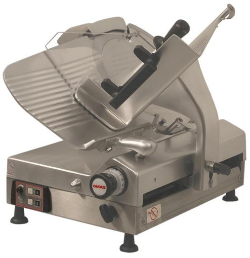 OMAS CX-MATIC 30E Υπεραυτόματη Ζαμπονομηχανή Με Γρανάζια - Διάμετρος Μαχαιριού:  black week προσφορές   ζαμπονομηχανές  επαγγελματικός εξοπλισμός   συσκευές επεξ