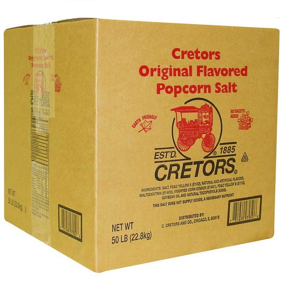 FrigoHellas OEM Pop Corn Salt Αλάτι σε Σκόνη για Pop Corn - Πόπ Κόρν (Τιμή για Α επαγγελματικός εξοπλισμός   μηχανές πόπ κόρν   pop corn   μαλλί της γριάς   υλικ