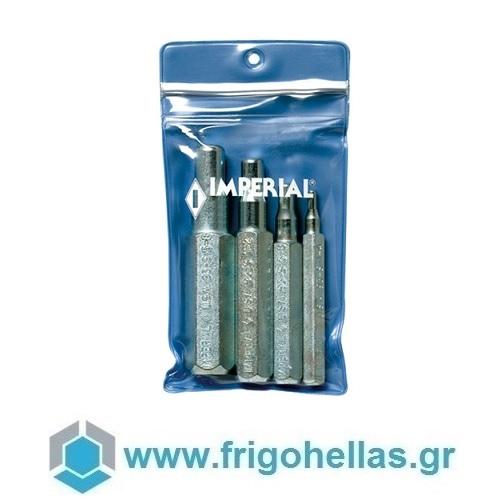 "Imperial 193-S Σέτ Ζουμπάδες Για Εκτόνωση Χαλκοσωλήνων 1/4"", 3/8"", 1/2"", 5/8"" εργαλεία για ψυκτικούς   εκτονωτικά   εκχειλωτικά χαλκοσωλήνων  εργαλεία για ψυκ"