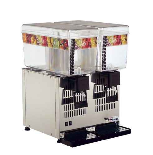 Santos No 34-2 Ψύκτες Χυμών με 2 Κάδους (2x12Lit) (Γαλλίας) black week προσφορές   ψύκτες χυμών  επαγγελματικός εξοπλισμός   μηχανές καφέ