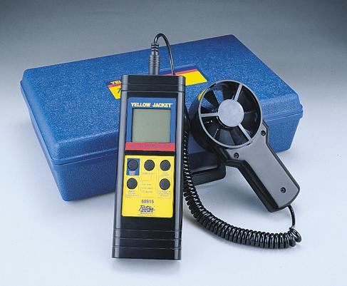 Ritchie YELLOW JACKET 68915 Ηλεκτρονικό Ανεμόμετρο & Θερμόμετρο εργαλεία για ψυκτικούς   ανεμόμετρα  εργαλεία για ψυκτικούς   θερμόμετρα   υγρασ
