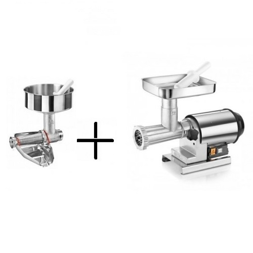 FACEM TRE SPADE 22 ELEGANTE PLUS Μηχανή Σάλτσας Ντομάτας & Κρεατομηχανή 0,8HP -  επαγγελματικός εξοπλισμός   συσκευές επεξεργασίας τροφίμων   κρεατομηχανές   αντ