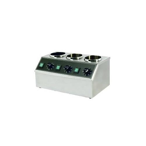Neumarker 05-40805 (III) Θερμαντικό Σοκολάτας 3x1 Lit - 400x220x220mm επαγγελματικός εξοπλισμός   φούρνοι μικροκύματα κρεπιέρες βαφλιέρες φριτέζες   μ