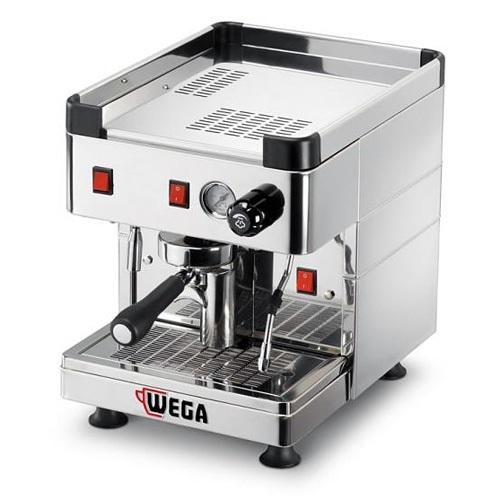 WEGA Mininova Inox EPU PV Ημιαυτόματη Μηχανή Καφέ Espresso Με Δοχείο Νερού ( Gro επαγγελματικός εξοπλισμός   μηχανές καφέ   συσκευές για bar   μηχανές καφέ καθαρ