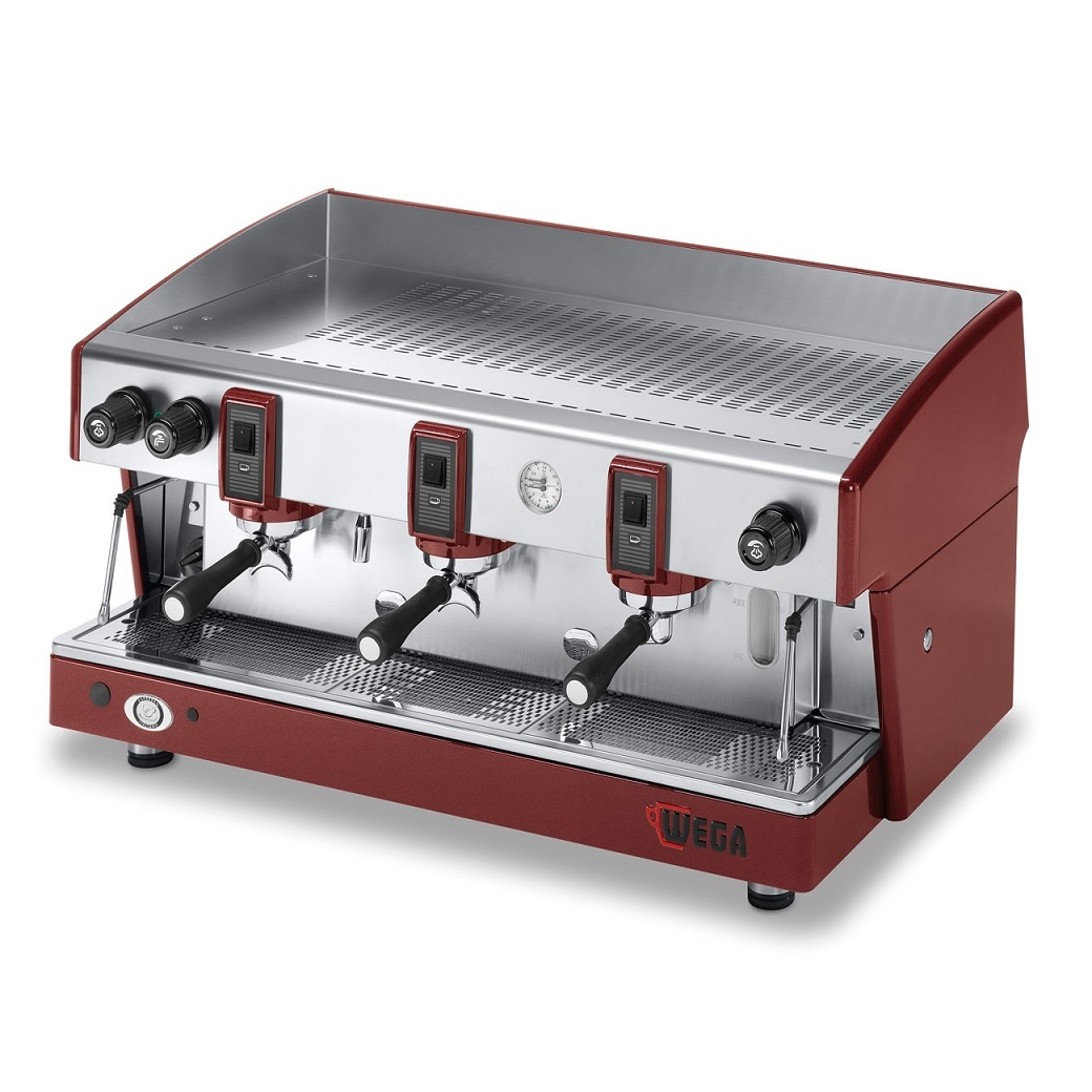 WEGA Atlas W01 EPU/3 Ημιαυτόματη Μηχανή Καφέ Espresso ( Groups: 3 ) επαγγελματικός εξοπλισμός   μηχανές καφέ   συσκευές για bar   μηχανές καφέ καθαρ