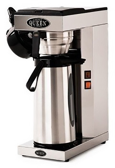 COFFEE QUEEN Thermos-M Μηχανή Καφέ Φίλτρου Ανοξείδωτη Με Θερμός - Παραγωγή: 130  επαγγελματικός εξοπλισμός   μηχανές καφέ   συσκευές για bar   μηχανές καφέ φίλτρ