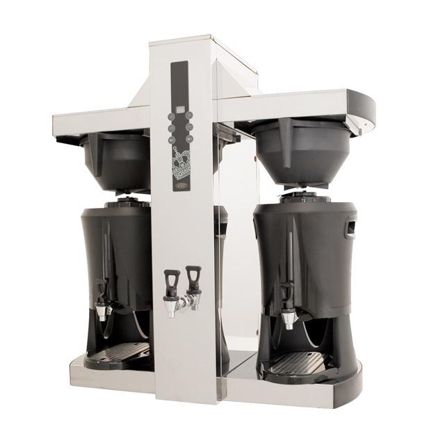 COFFEE QUEEN Tower Μηχανή Καφέ Φίλτρου Με 2 Θερμός Μεγάλων Παραγωγικών Δυνατοτήτ επαγγελματικός εξοπλισμός   μηχανές καφέ   συσκευές για bar   μηχανές καφέ καθαρ