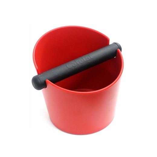CAFELAT Tubbi Large Κόκκινο Δοχείο Χτυπήματος Κλείστρου Καφέ - Ύψος: 150mm επαγγελματικός εξοπλισμός   μηχανές καφέ   συσκευές για bar   μηχανές καφέ καθαρ