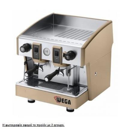 WEGA Atlas W01 EPU/1 Ημιαυτόματη Μηχανή Καφέ Espresso ( Groups: 1 ) επαγγελματικός εξοπλισμός   μηχανές καφέ   συσκευές για bar   μηχανές καφέ καθαρ