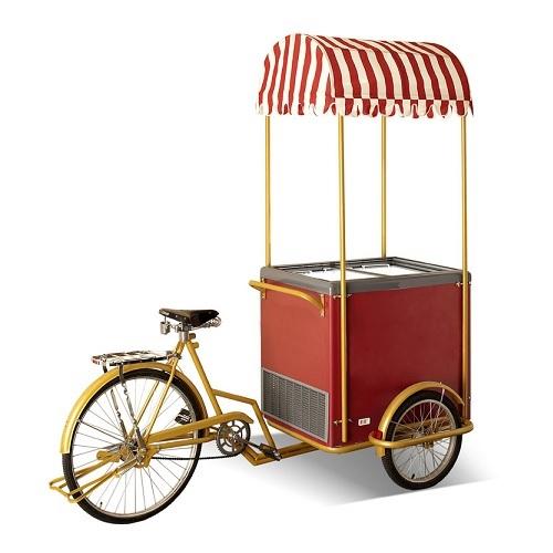 CRYSTAL ICE CREAM BICYCLE Καρότσι Παγωτού Με Ποδήλατο 260Lit - Ελληνικής Κατασκε επαγγελματικός εξοπλισμός   επαγγελματικά ψυγεία   βιτρίνες παγωτού  επαγγελματι