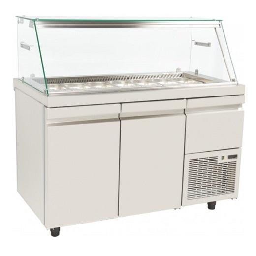 SA 80 134A Επαγγελματικά Ψυγεία Βιτρίνες Σαλατών (Κατάλληλο για Μπουγατσατζίδικα επαγγελματικός εξοπλισμός   επαγγελματικά ψυγεία   βιτρίνες για snack   συνθέσει