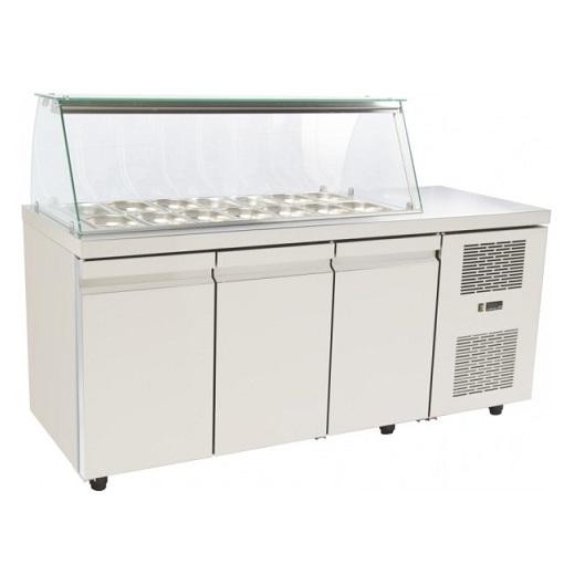 SA GN 185MA Επαγγελματικά Ψυγεία Βιτρίνες Σαλατών (Κατάλληλο για Μπουγατσατζίδικ επαγγελματικός εξοπλισμός   επαγγελματικά ψυγεία   ψυγεία για σαλάτες  επαγγελμα