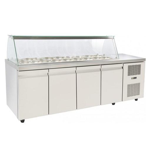 SA GN 230MA Επαγγελματικά Ψυγεία Βιτρίνες Σαλατών (Κατάλληλο για Μπουγατσατζίδικ επαγγελματικός εξοπλισμός   επαγγελματικά ψυγεία   ψυγεία για σαλάτες  επαγγελμα
