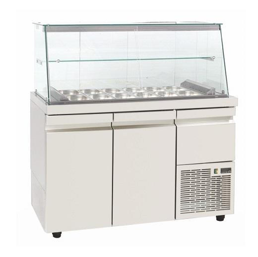 SA GN 134KA Επαγγελματικά Ψυγεία Βιτρίνες Σαλατών (Κατάλληλο για Μπουγατσατζίδικ επαγγελματικός εξοπλισμός   επαγγελματικά ψυγεία   ψυγεία για σαλάτες  επαγγελμα