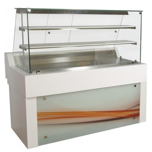 Niki Inox ZA RE 134 Επαγγελματικά Ψυγεία Βιτρίνες Ζαχαροπλαστικής Ψυχόμενη Με Αέ επαγγελματικός εξοπλισμός   επαγγελματικά ψυγεία   βιτρίνες ζαχαροπλαστικής  επα