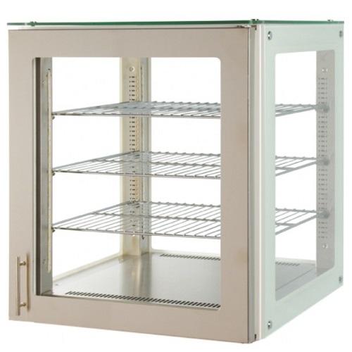 V4 NE 60 IN Βιτρίνα Επιτραπέζια Ουδέτερη Ένθετη 4 Όψεων (Inox) - 610x600x800mm επαγγελματικός εξοπλισμός   επαγγελματικά ψυγεία   βιτρινάκια πάγκου συντήρησης