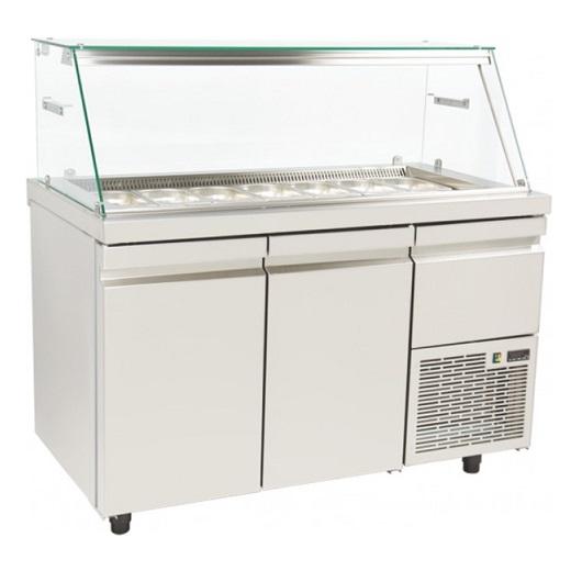 SA GN 134K Επαγγελματικά Ψυγεία Βιτρίνες Σαλατών (Κατάλληλο για Μπουγατσατζίδικα επαγγελματικός εξοπλισμός   επαγγελματικά ψυγεία  επαγγελματικός εξοπλισμός   επ