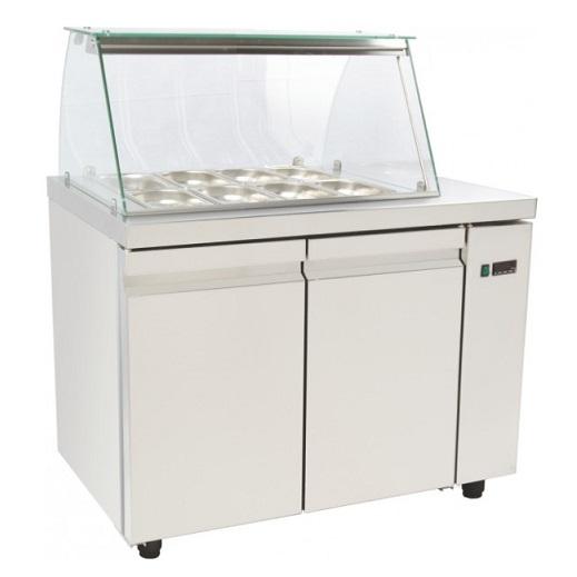 SA GN 105A Επαγγελματικά Ψυγεία Βιτρίνες Σαλατών (Κατάλληλο για Μπουγατσατζίδικα επαγγελματικός εξοπλισμός   επαγγελματικά ψυγεία  επαγγελματικός εξοπλισμός   επ
