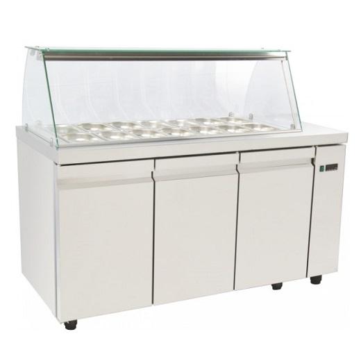 SA GN 150A Επαγγελματικά Ψυγεία Βιτρίνες Σαλατών (Κατάλληλο για Μπουγατσατζίδικα επαγγελματικός εξοπλισμός   επαγγελματικά ψυγεία  επαγγελματικός εξοπλισμός   επ