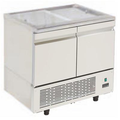 Niki Inox PA MB 089K Επαγγελματικό Ψυγείο Πάγκος Τυριέρα- Ψυγείο Φετιέρα - Ψυγεί black week προσφορές   ψυγείο bar μπουκαλιέρες  επαγγελματικός εξοπλισμός   επαγ