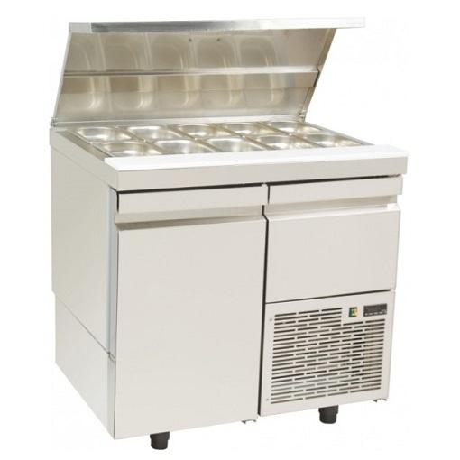 SL GN 089K Επαγγελματικά Ψυγεία Πάγκος Σαλατών Με Καπάκι Inox (Κατάλληλο για Ξεν επαγγελματικός εξοπλισμός   επαγγελματικά ψυγεία  επαγγελματικός εξοπλισμός   επ