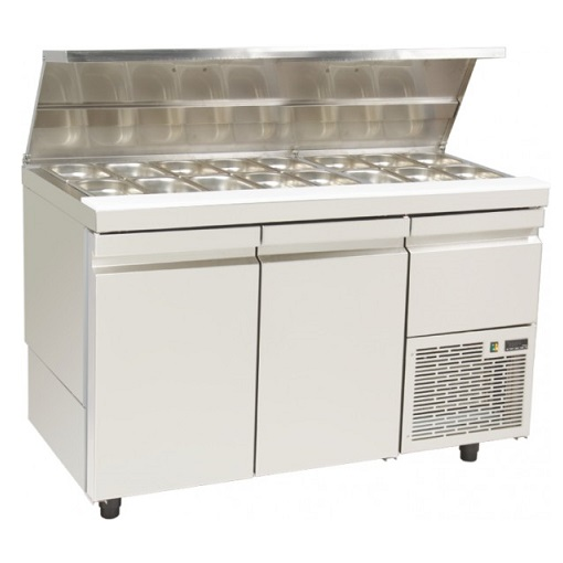 SL GN 134K Επαγγελματικά Ψυγεία Πάγκος Σαλατών Με Καπάκι Inox (Κατάλληλο για Ξεν επαγγελματικός εξοπλισμός   επαγγελματικά ψυγεία  επαγγελματικός εξοπλισμός   επ