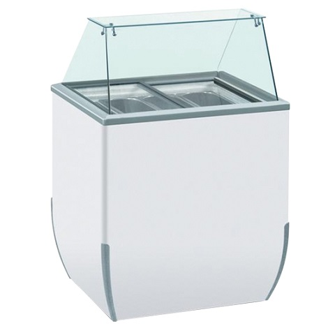 Framec BRIO ICE Επαγγελματικά Ψυγεία Βιτρίνες Χύμα Παγωτού 4 Γεύσεων - 790x650x1 επαγγελματικός εξοπλισμός   επαγγελματικά ψυγεία   βιτρίνες παγωτού  επαγγελματι