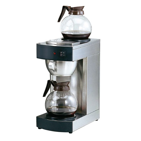 HALDEX-OEM RH230 Μηχανή Καφέ Φίλτρου Ανοξείδωτη με 2 εστίες & 1 Γυάλινη Κανάτα ( επαγγελματικός εξοπλισμός   μηχανές καφέ   συσκευές για bar   μηχανές καφέ φίλτρ
